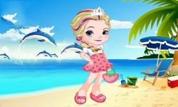 Elsa As Strawberry Dress Up screenshot 1/3