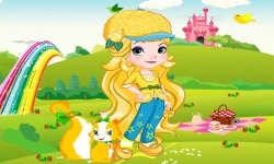 Elsa As Strawberry Dress Up screenshot 3/3