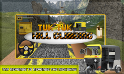Tuk Tuk Hill Climbing screenshot 1/6