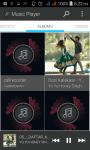Music Player Black screenshot 3/5