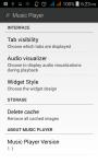 Music Player Black screenshot 5/5
