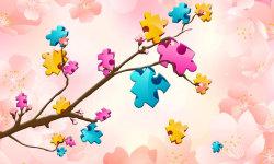 Big puzzles flowers screenshot 1/6