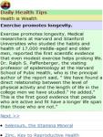 Health Tips screenshot 2/2