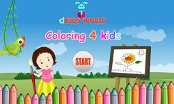 Coloring 4 Kids screenshot 1/3