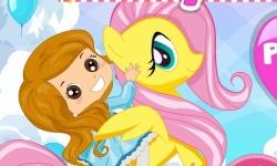 Rainbow Pony Ride screenshot 1/2