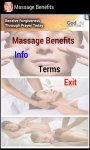 Massage Benefits screenshot 2/3