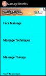 Massage Benefits screenshot 3/3