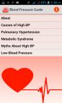 Blood Pressure Guide screenshot 1/3