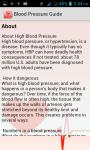 Blood Pressure Guide screenshot 2/3