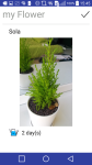 Plants manager - myFlower screenshot 2/3