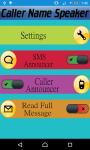 Caller Name Speaker Advance screenshot 1/6