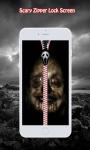 Scary Zipper Lock Screen screenshot 3/6