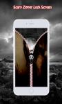 Scary Zipper Lock Screen screenshot 5/6