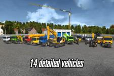 Construction Sim 2014 swift screenshot 1/5