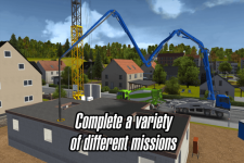 Construction Sim 2014 swift screenshot 4/5