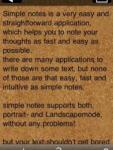 Simple Notes screenshot 1/1