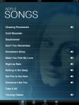 Adele Piano Songbook for iPad screenshot 4/4