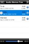 Audio Memos Free - The Voice Recorder screenshot 1/1