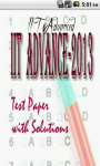 JEE Advanced 2013 Test Paper with Solutions screenshot 1/6