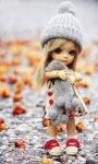 Cute Doll Live Wallpaper screenshot 1/3