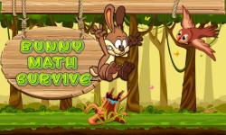 Bunny Math Survive screenshot 1/6