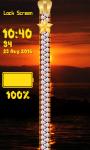 Zipper Lock Screen – Sunset screenshot 6/6