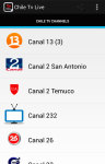 Chile Tv Live screenshot 1/5