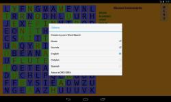 Word Search puzzle wORD SEEk screenshot 2/4