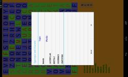 Word Search puzzle wORD SEEk screenshot 3/4