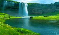Hillock Waterfall Live Wallpaper screenshot 2/3