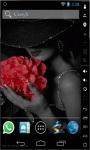 Lady In Black LWP screenshot 1/2