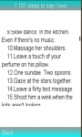 101 ideas to say i love screenshot 1/1