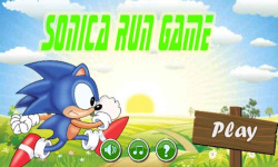Sonica Run Game Android screenshot 1/3