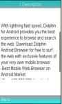 Dolphin Browser Info screenshot 1/1
