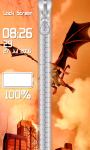 Dragon Zipper Lock Screen Best screenshot 5/6
