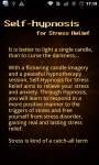Self-Hypnosis for Stress Relief Lite screenshot 6/6