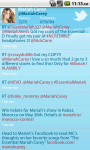 Mariah Carey - Tweets screenshot 2/3