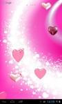 Pink hearts lwp screenshot 2/3