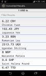 Currency Converter X screenshot 2/3