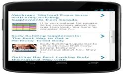 Free Bodybuilding Supplement Reviews screenshot 2/4