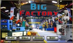 Free Hidden Object Games - Big Factory screenshot 1/4