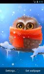Funny Owl Live Wallpaper screenshot 2/4