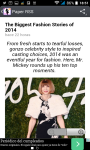 Fashion magazines rss reader screenshot 3/3