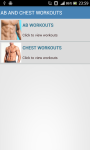 Abs And Chest Workouts screenshot 1/2