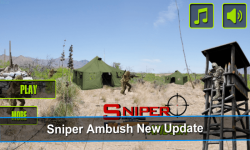 Sniper Ambush Clash - 3d Clans screenshot 1/6