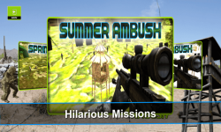 Sniper Ambush Clash - 3d Clans screenshot 2/6
