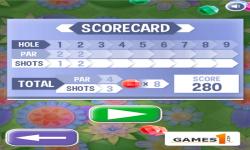 Putt Gem Garden screenshot 3/6