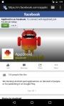 AppDroid FB screenshot 1/2