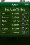 Azan Islam World screenshot 1/3