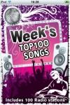 Week's Top 100 Songs & 100 Hot Radio Stations screenshot 1/1